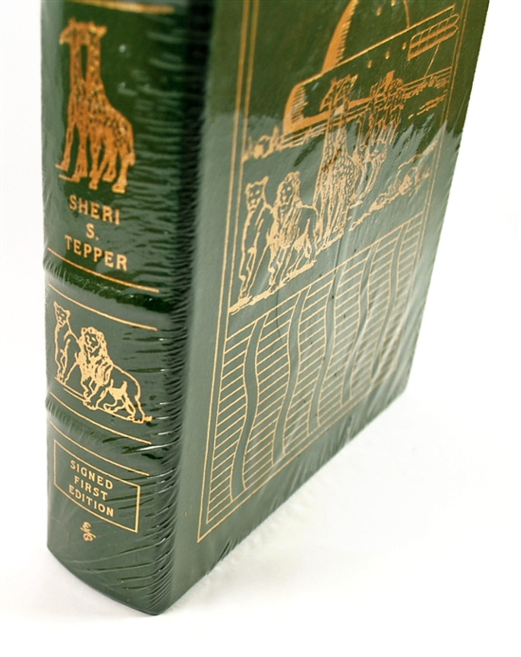 """Easton Press, Sheri S. Tepper """"The Companions"""" Signed First Edition w/COA (Sealed)"""