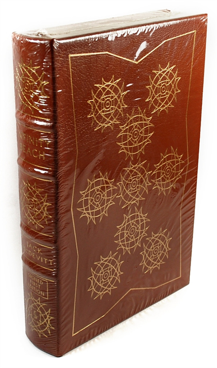 "Easton Press, Jack Mcdevitt ""Infinity Beach"" Signed First Edition w/COA (Sealed)"