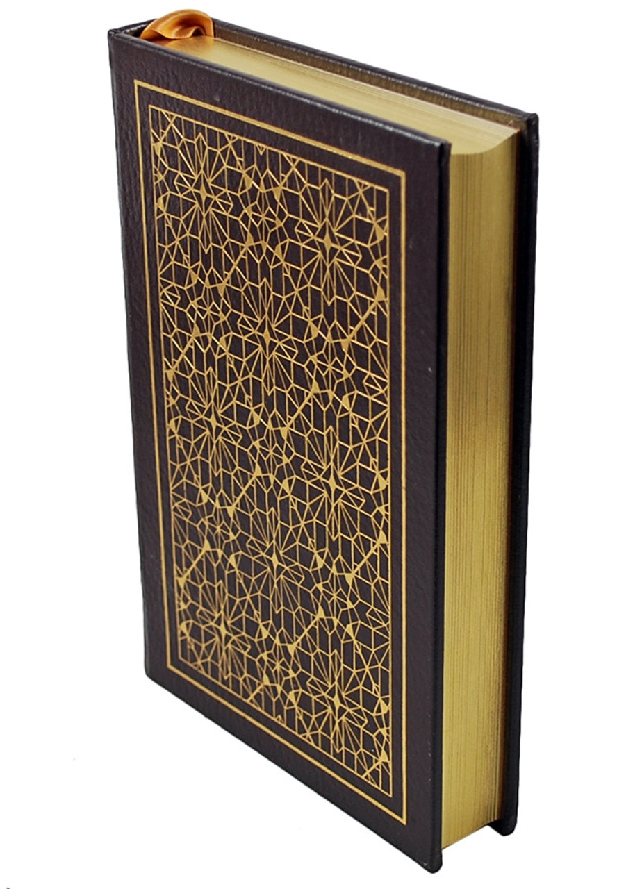 Easton Press Greg Bear Foundation and Chaos Signed Limited Edition Leather Bound Book