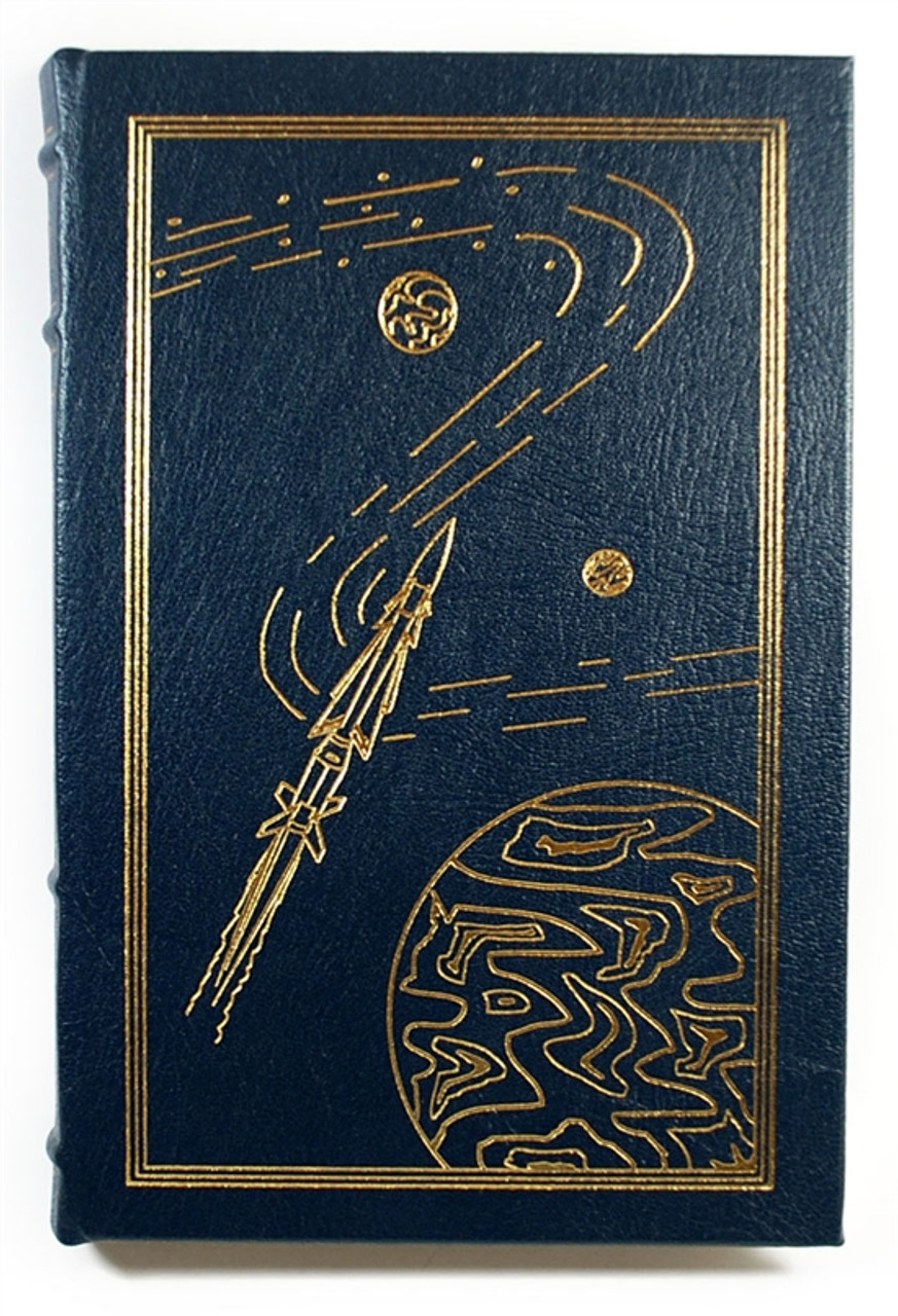 "Easton Press, David Brin ""Brightness Reef"" Signed First Edition, Leather Bound Collector's Edition (Very Fine)"