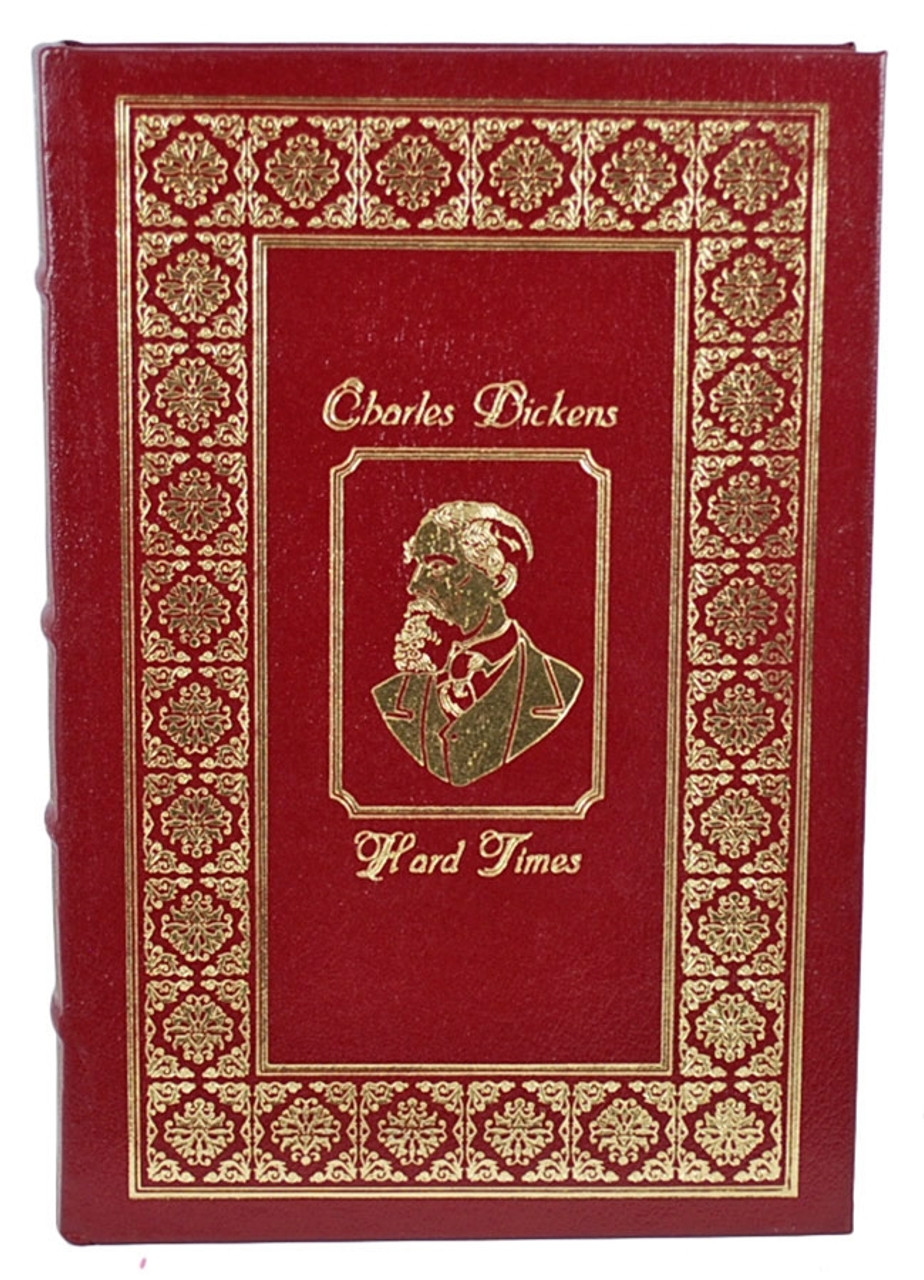 """Charles Dickens """"Hard Times"""" Leather Bound Collector's Edition [Very Fine]"""