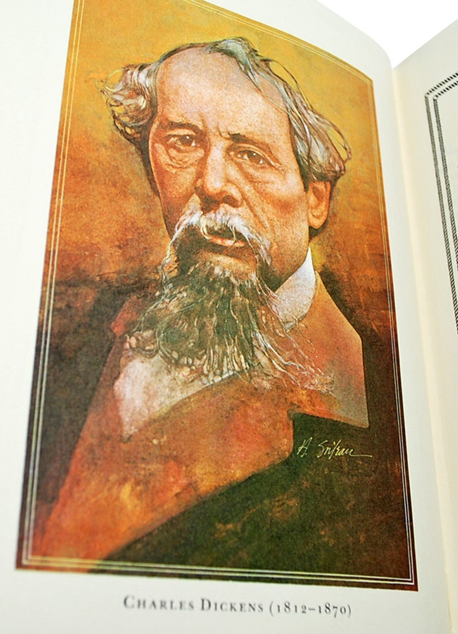 """Charles Dickens """"David Copperfield"""" Leather Bound Collector's Edition [Very Fine/Sealed]"""