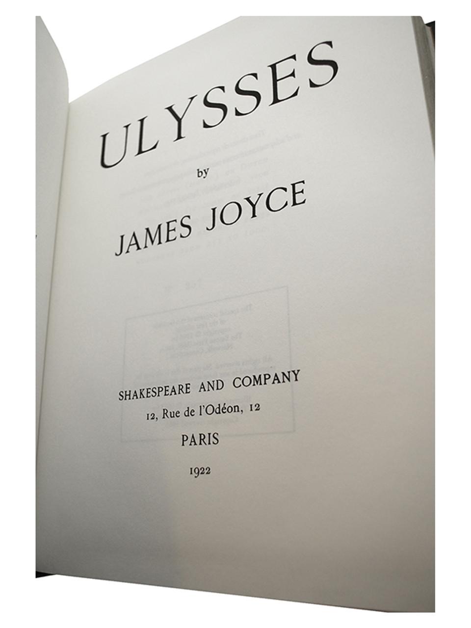 "Easton Press ""Ulysses"" James Joyce, Leather Bound (Very Fine)"