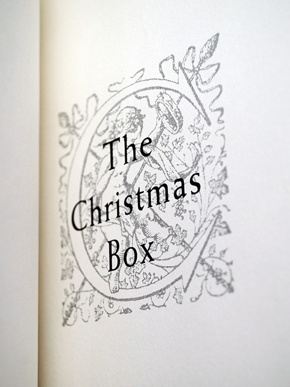 """Easton Press, Richard Paul Evans """"The Christmas Box Collection"""" Leather Bound Matching Set, 3 Vols."""