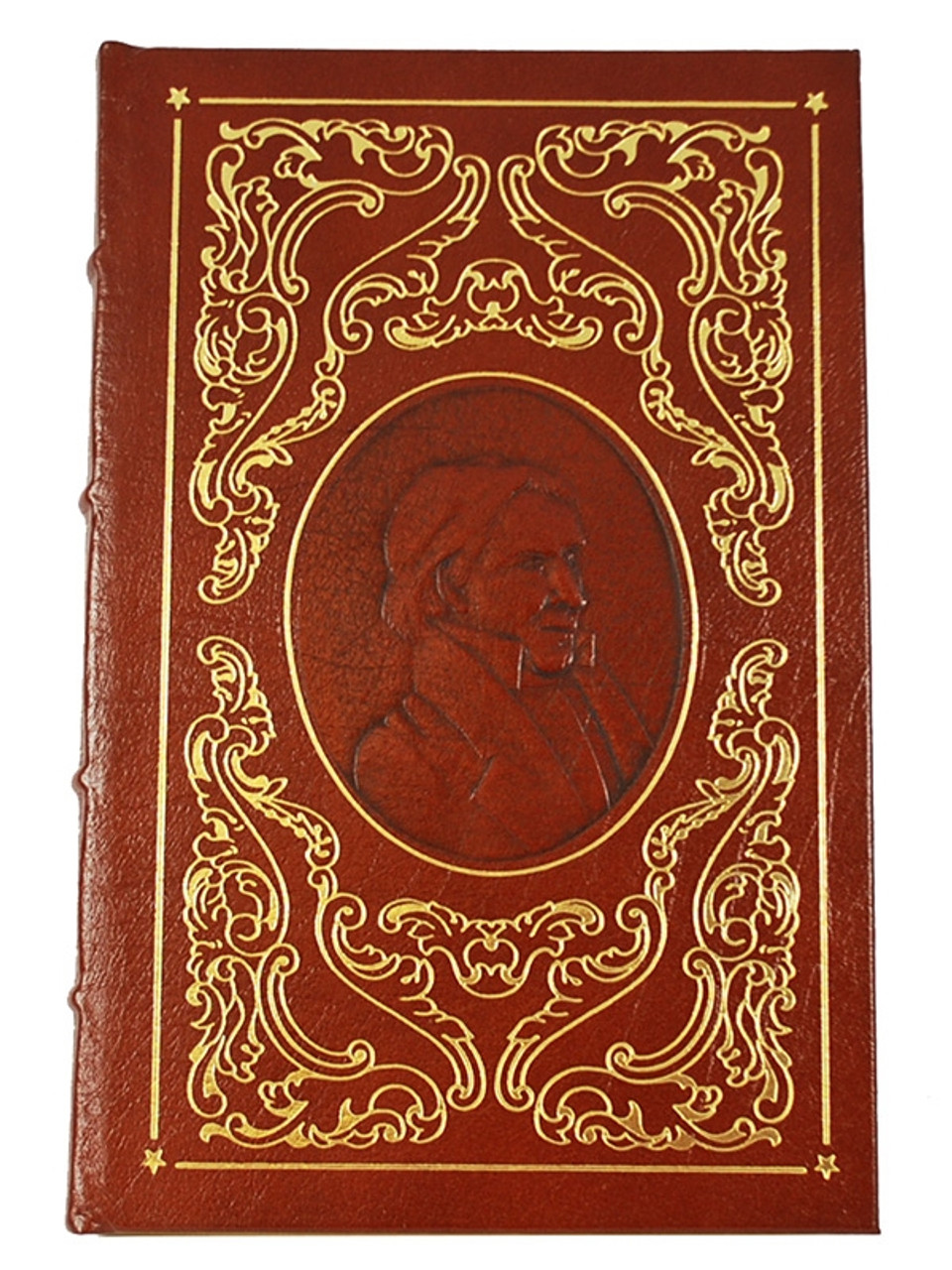 """Easton Press, """"Heroes of the Wild West"""" Leather Bound Limited Edition, 5 Vol. Complete Matched Set"""