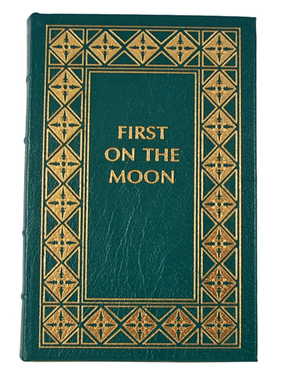 """Easton Press """"Race To Space"""" Leather Bound Limited Edition, 5 Vol. Complete Matched Set [Very Fine]"""