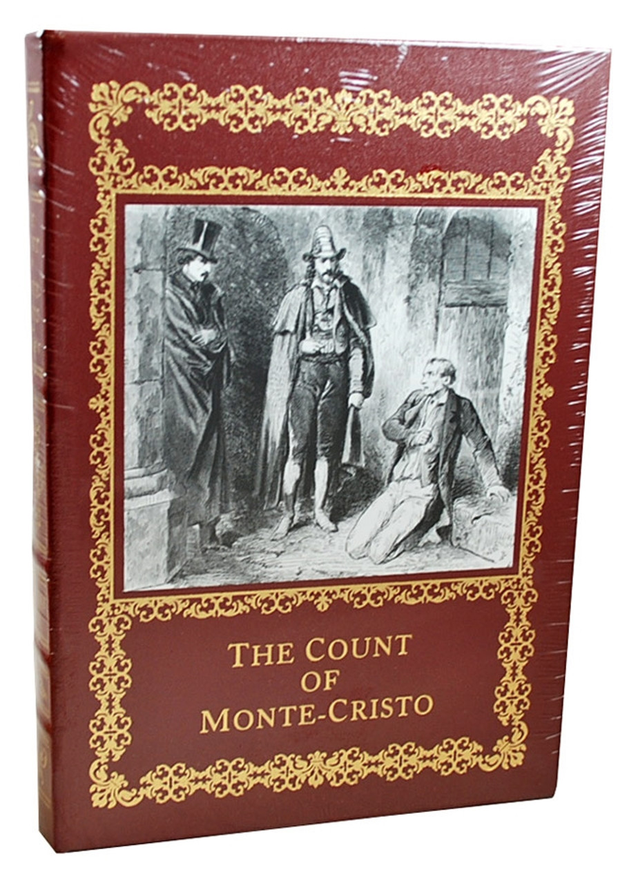 """Easton Press, Alexandre Dumas """"The Count of Monte Cristo"""" Deluxe Leather Bound Collector's Edition of only 800, 5-Volume Set [Sealed]"""