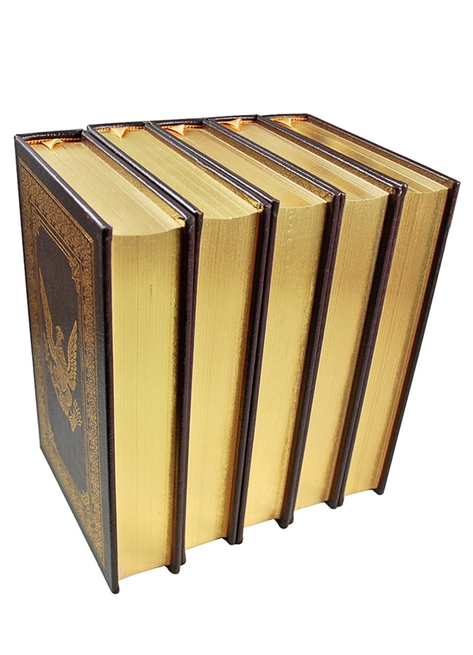 "Easton Press ""America's Wars"" Limited Edition, Leather Bound Complete Matching 11-Volume Set"