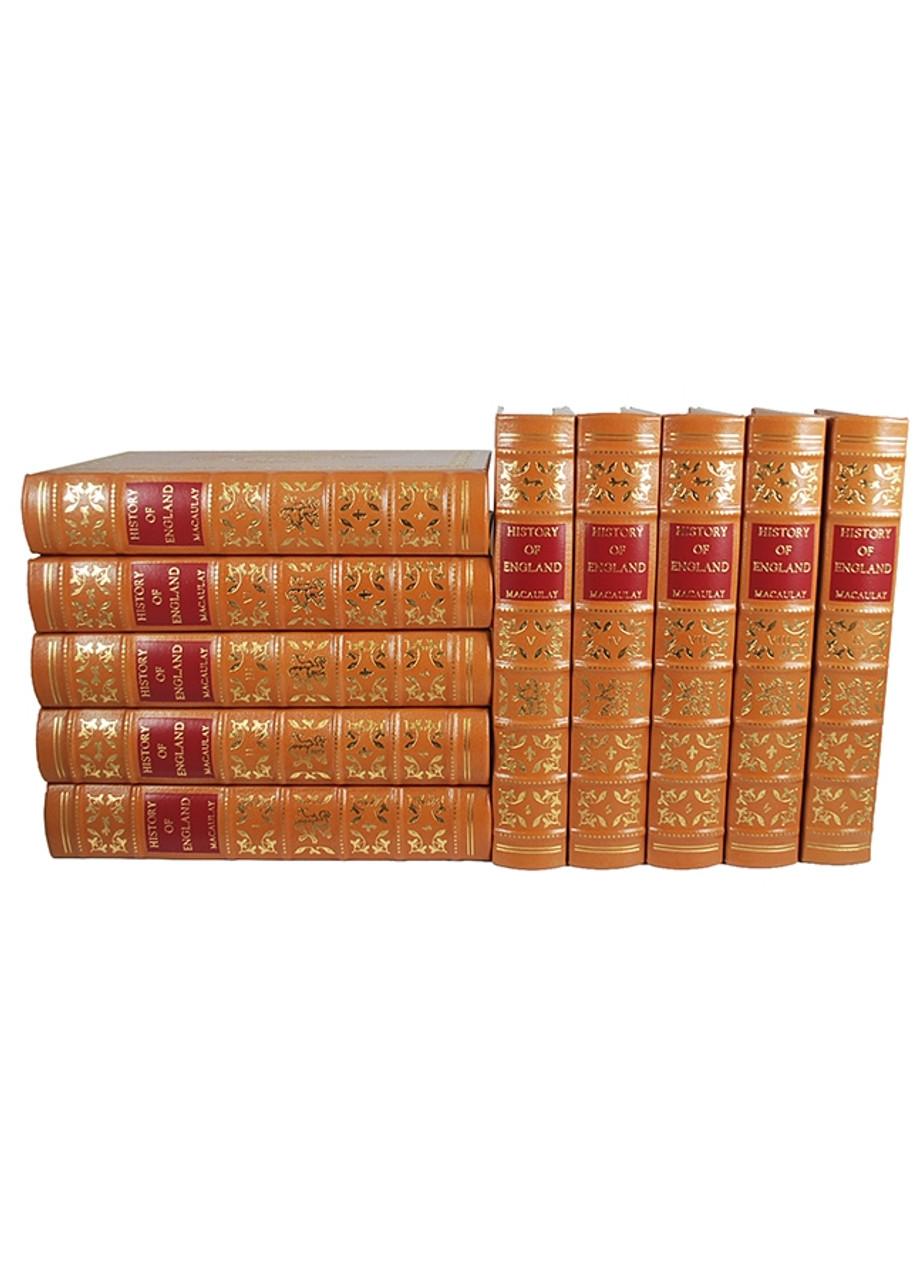 "Easton Press ""The History of England"" Macaulay 10 Volume Set [Very Fine]"