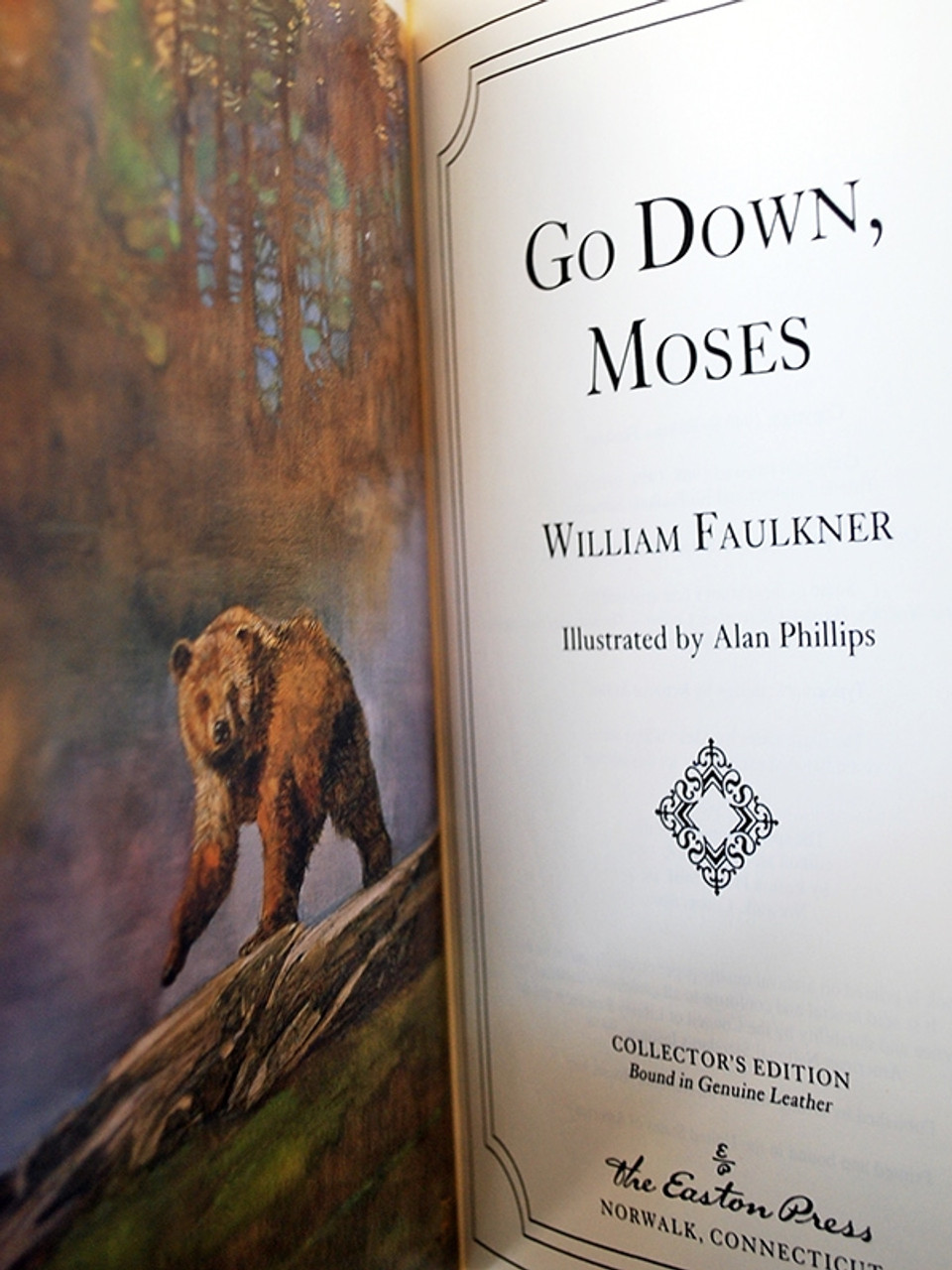 """Easton Press """"William Faulkner Classics"""" Leather Bound Complete Matched 11 Vol. Set [Very Fine]"""