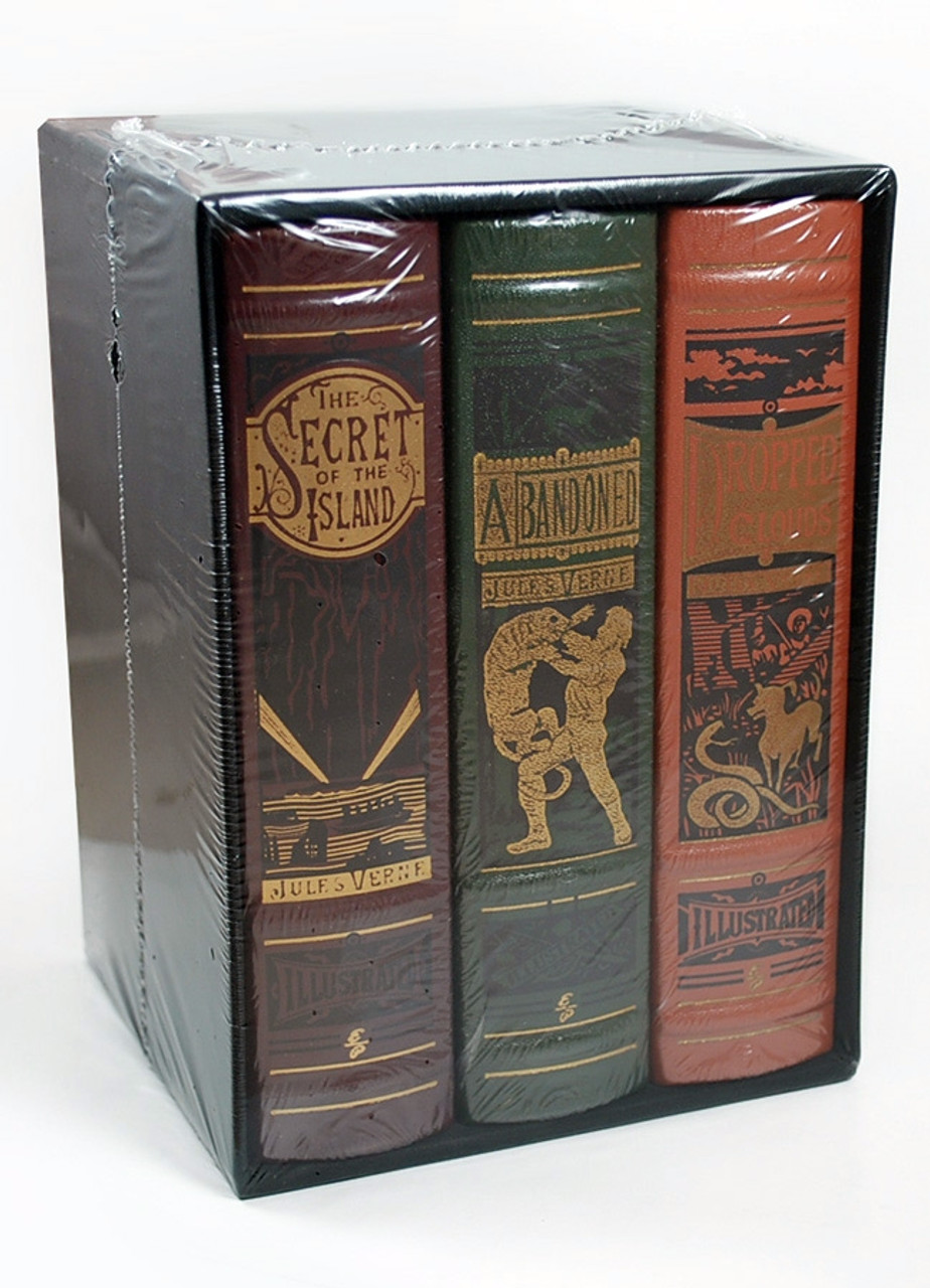 Easton Press, Jules Verne, Deluxe Limited Edition, Leather Bound Collector's Set of only 400, Slipcased [Sealed]