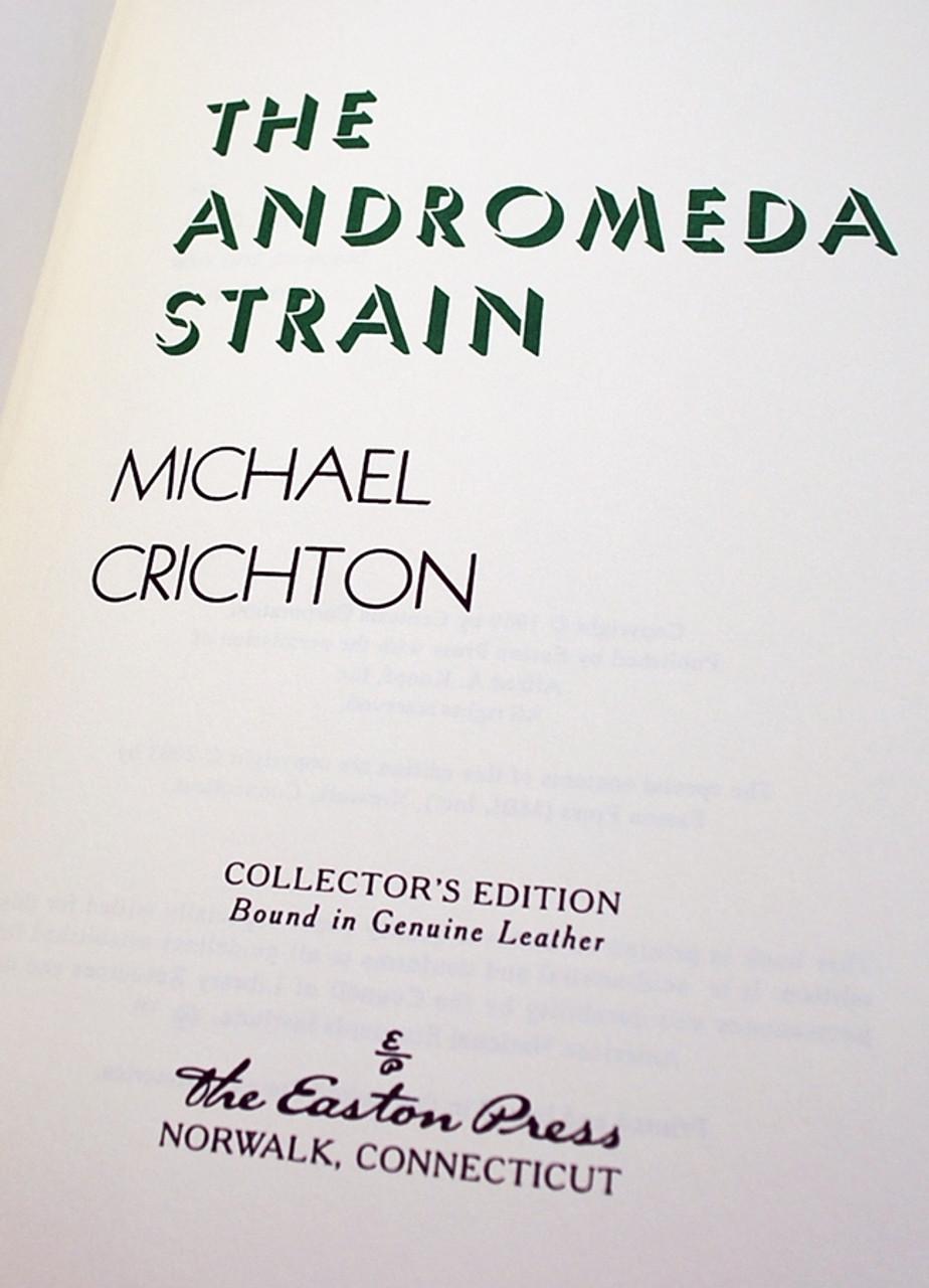 Easton Press Andromeda Strain Crichton Signed