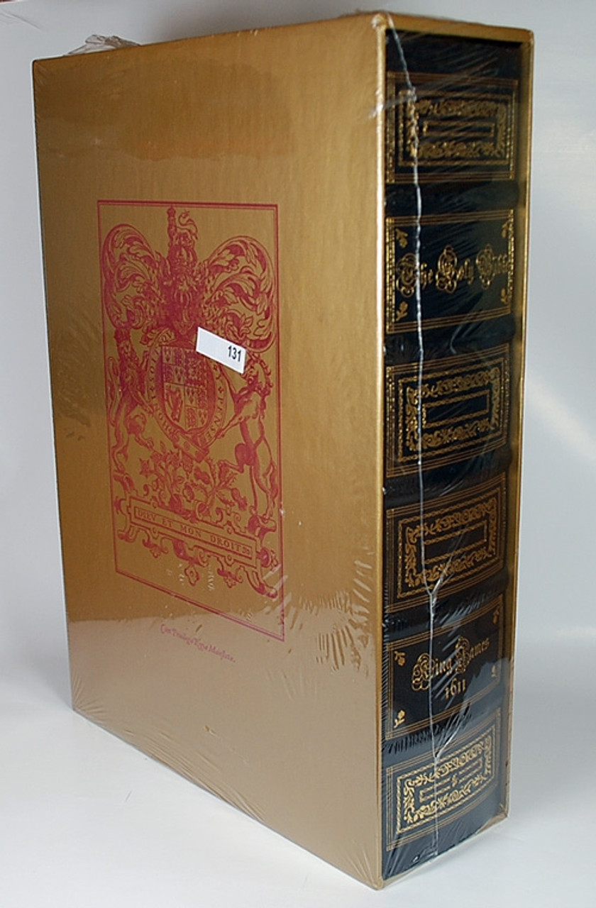 Easton Press - The King James Bible, The Classic 1611 Edition, Limited Edition of only 400