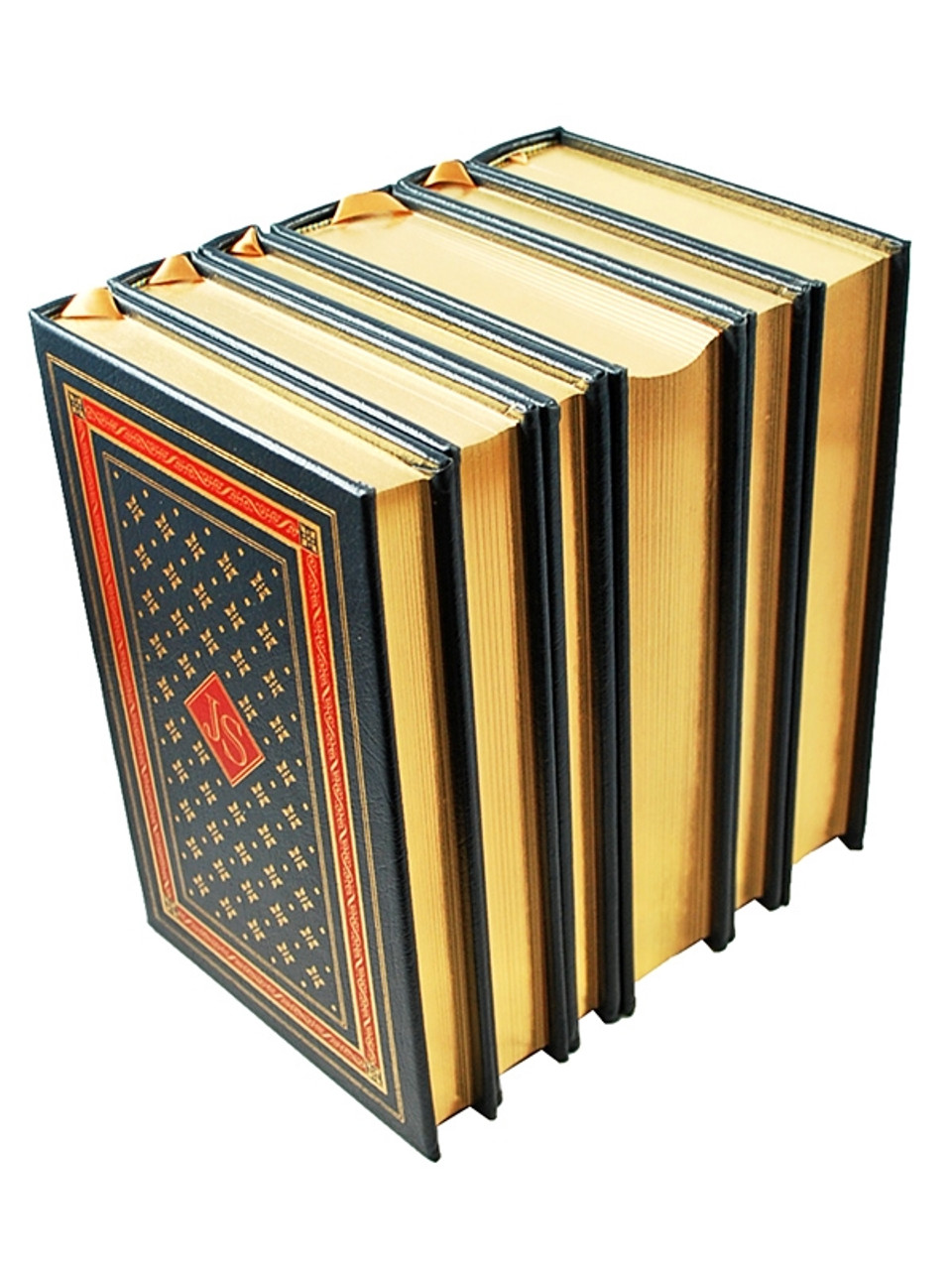 """Easton Press, John Steinbeck """"The Novels and Short Stories of John Steinbeck"""" Limited Collector's Edition, Leather Bound Matching Set"""