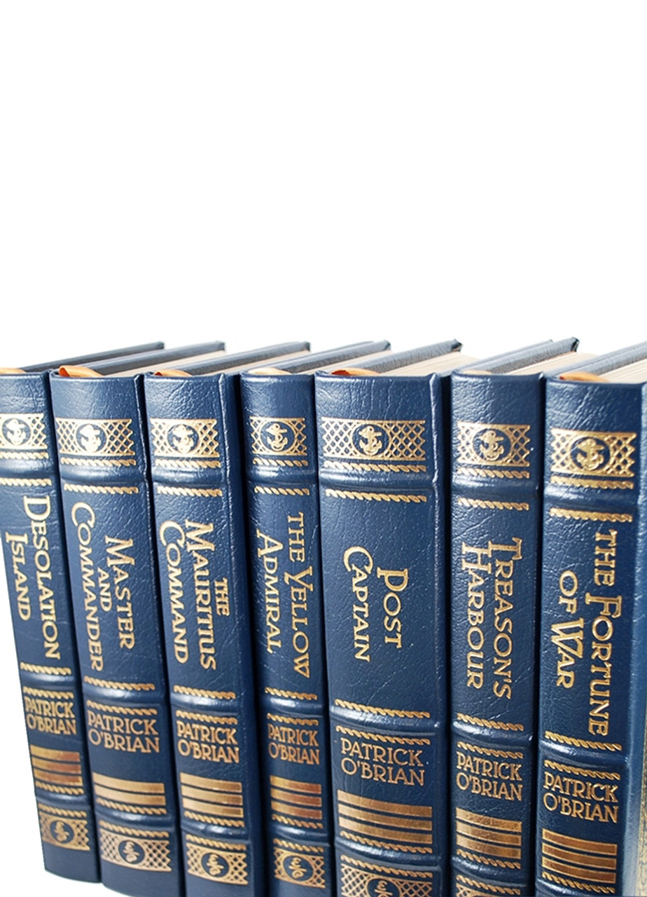 """Easton Press, Patrick O'Brian """"The Complete Aubrey/Maturin Series"""", """"Master and Commander"""" Limited Collector's Edition, Complete 20 Vol. Matching Set"""