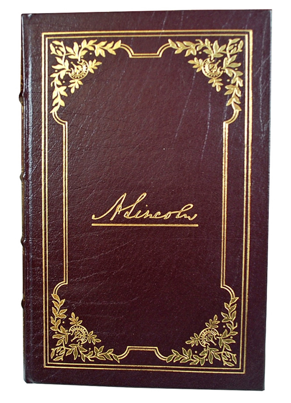 """Easton Press """"The Collected Works of Abraham Lincoln"""" Leather Bound Collector's Editions, Complete Matching Set 10 Vol. (Sealed)"""