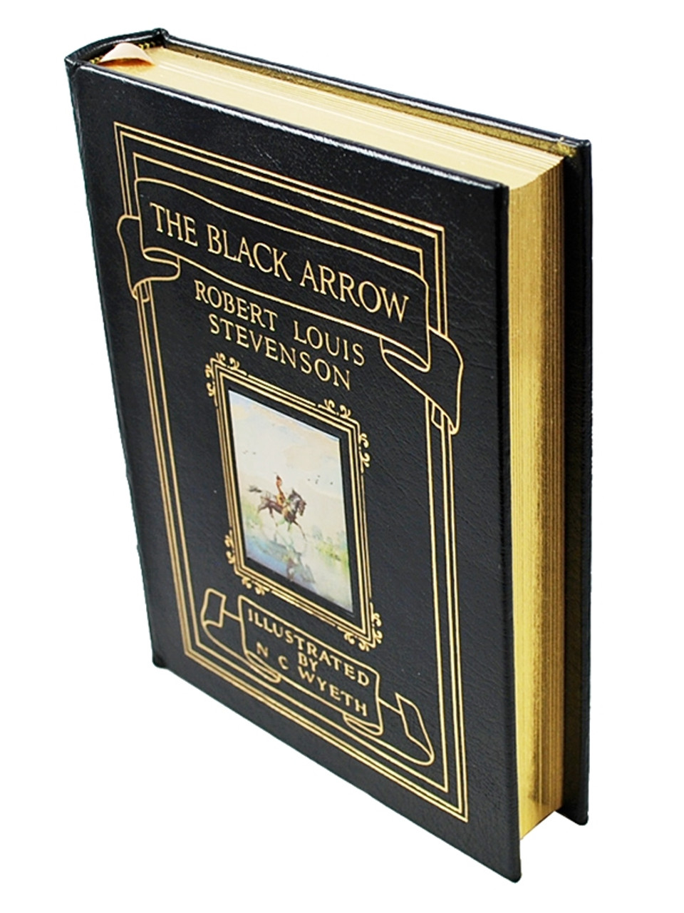 Easton Press, The Adventure Classics, Illustrated by N.C. Wyeth, Leather Bound Collector's Editions, 14 Vol. Complete Set [Very Fine]