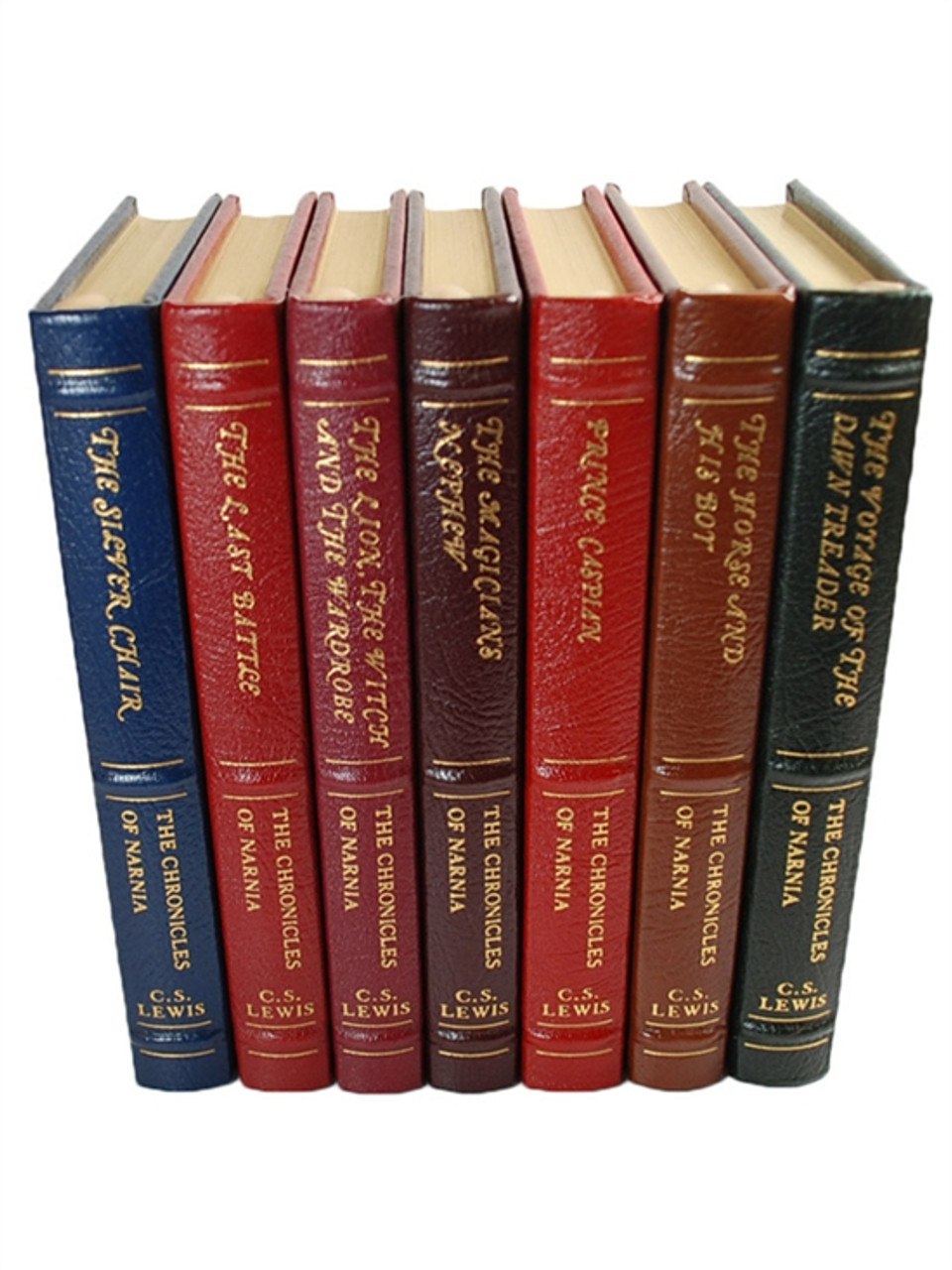 "Easton Press, C.S. Lewis ""The Chronicles of Narnia"" Limited Edition, Complete Matching 7 Vol. Set"