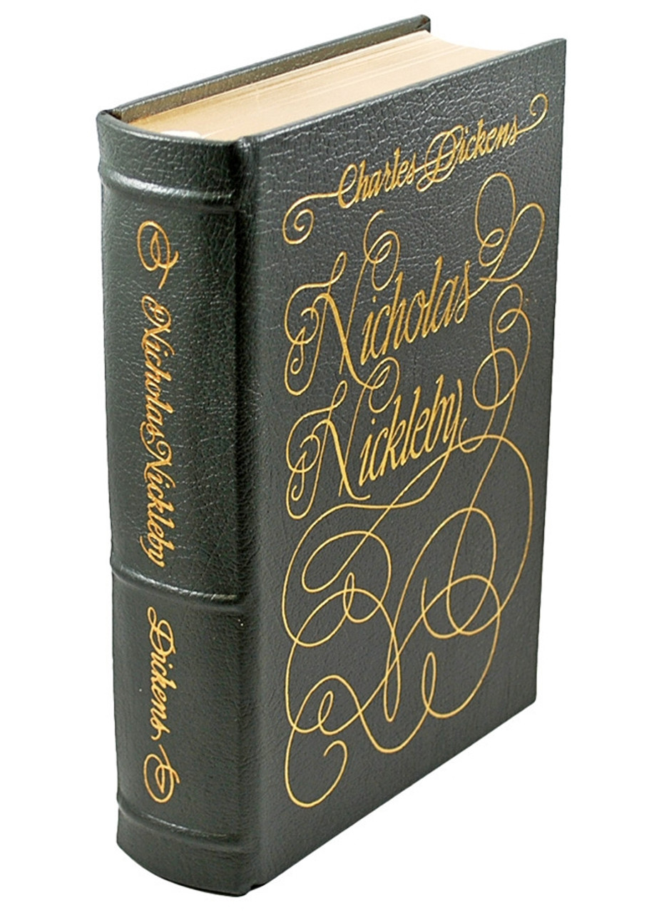 Easton Press Charles Dickens Nicholas Nickleby Limited Edition Leather Bound Book