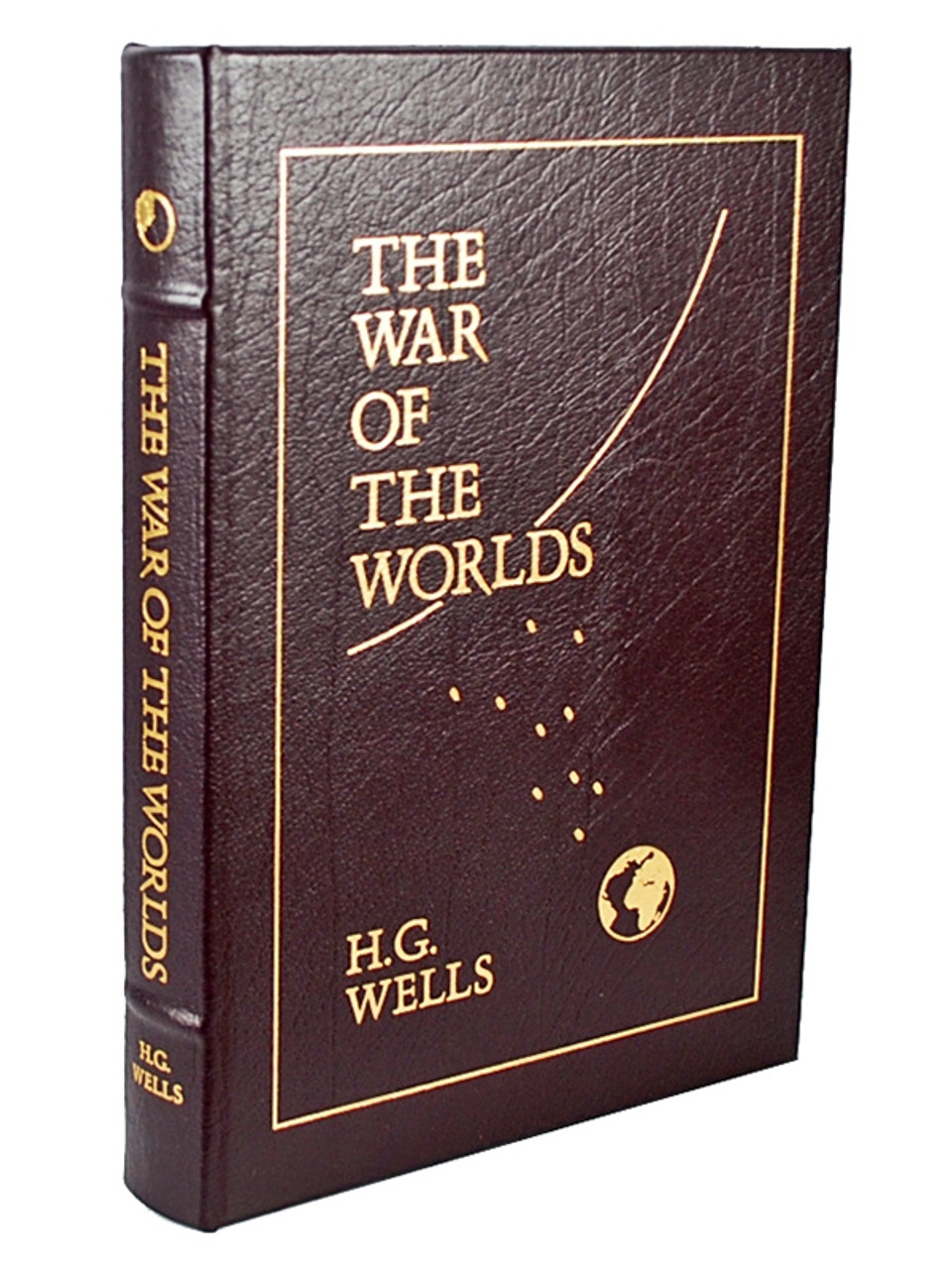 """Easton Press, H. G. Wells """"The War of the Worlds"""" Leather Bound Collector's Edition w/Notes [Very Fine]"""