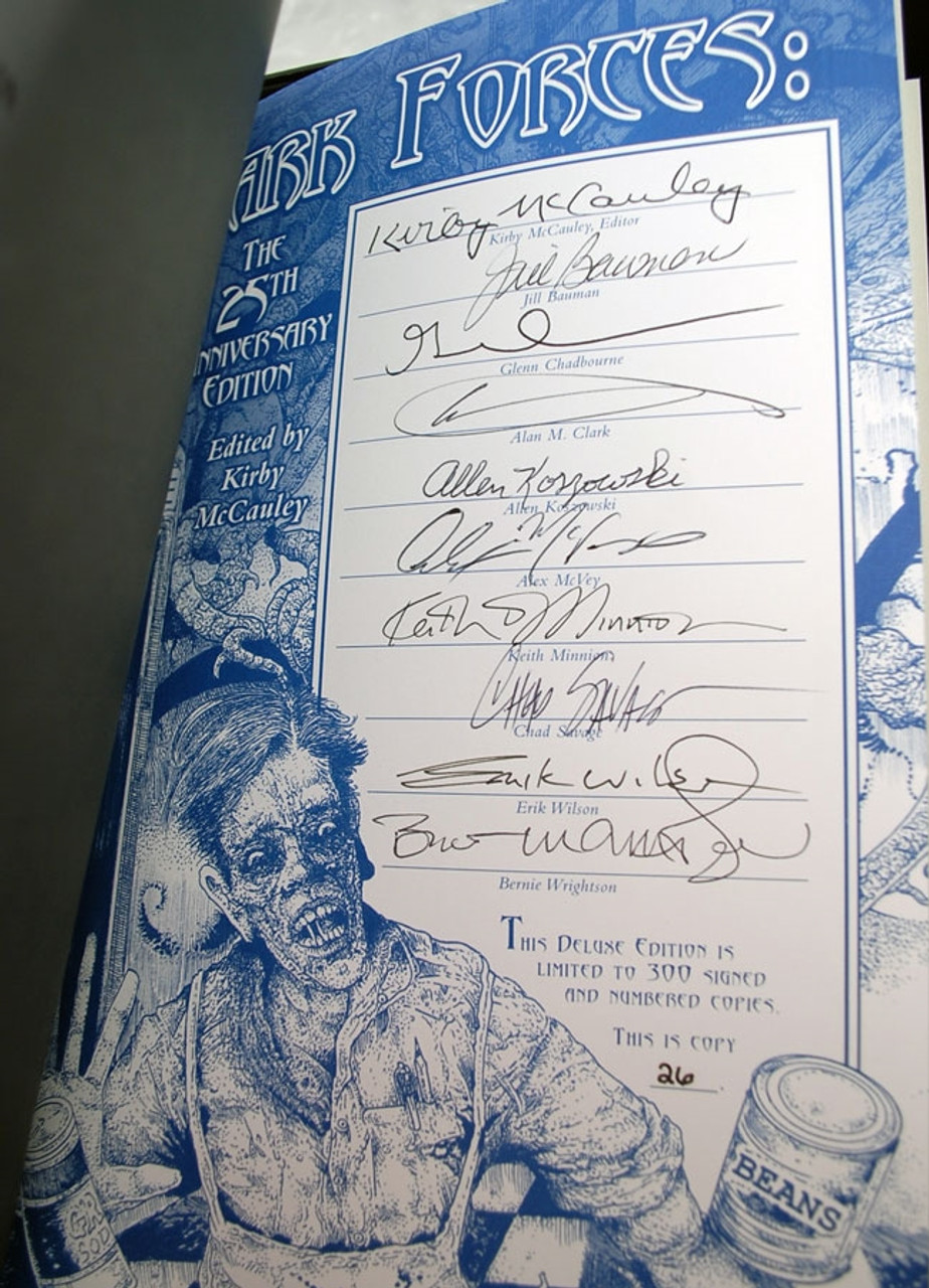 """""""Dark Forces: The 25th Anniversary Edition"""" edited by Kirby McCauley"""" Signed Limited Deluxe #13 of 300 (As New)"""