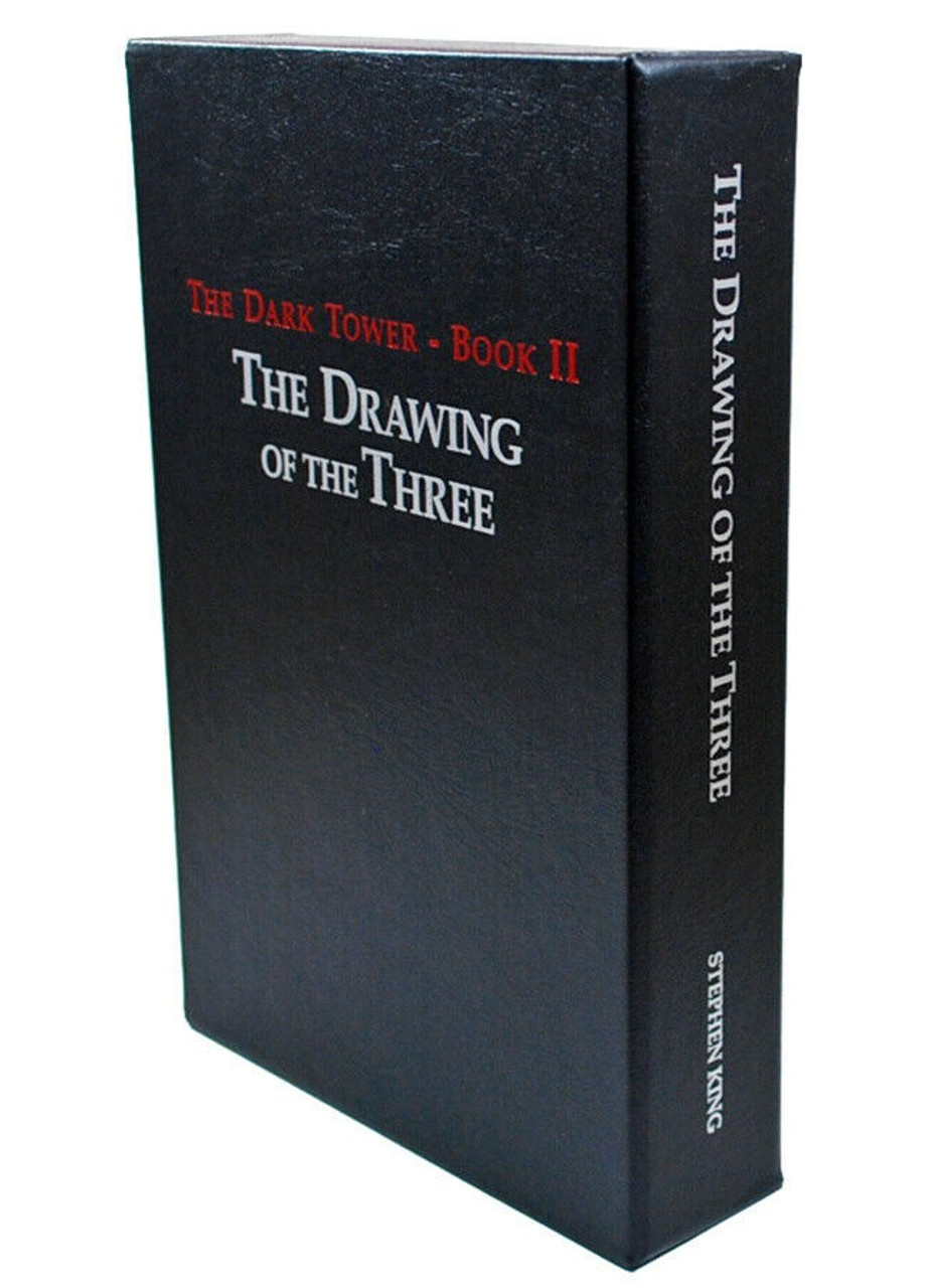 """Stephen King """"The Dark Tower II: The Drawing of the Three"""" First Edition, First Printing, Slipcased [Sealed]"""