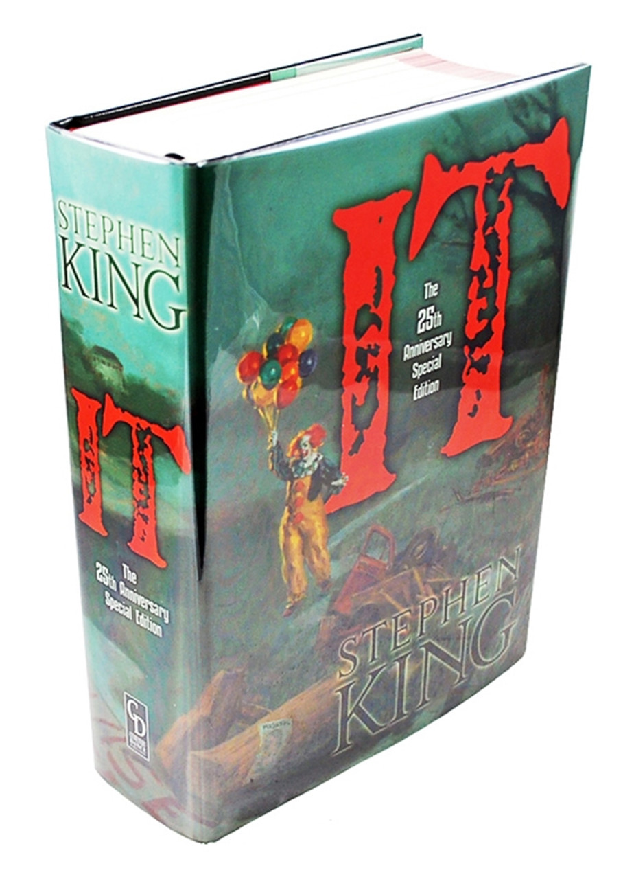 "Stephen King ""IT"" Signed Limited Deluxe, 25th Anniversary Edition of only 750  (As New)"