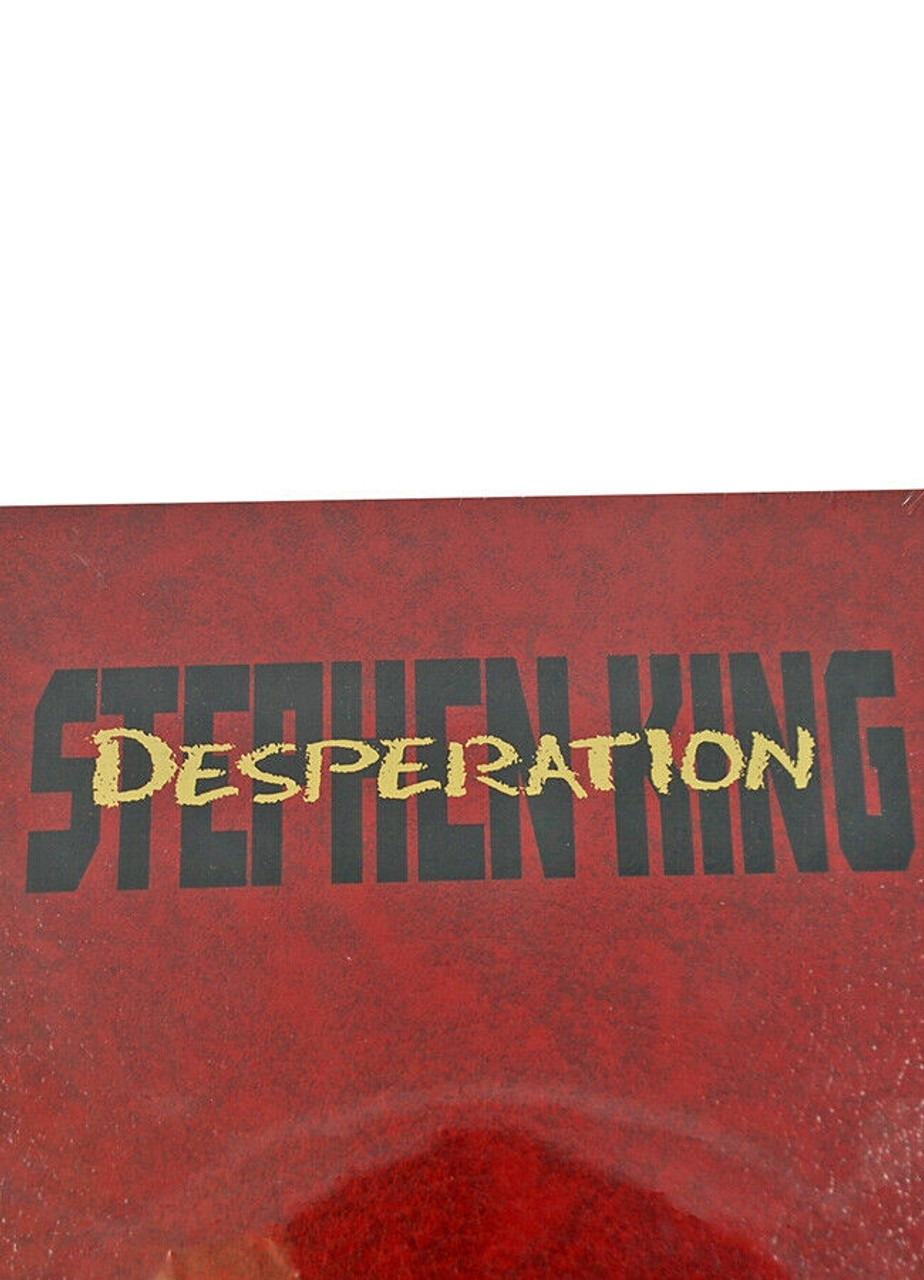 """Stephen King, """"Desperation"""" Limited Gift Edition of 4,000 in Slipcase [Sealed]"""