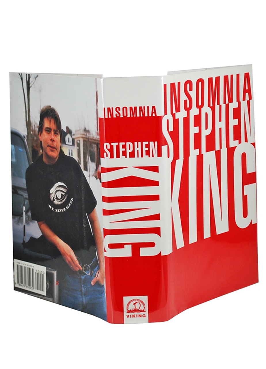 """Stephen King """"Insomnia"""" Signed First Edition"""