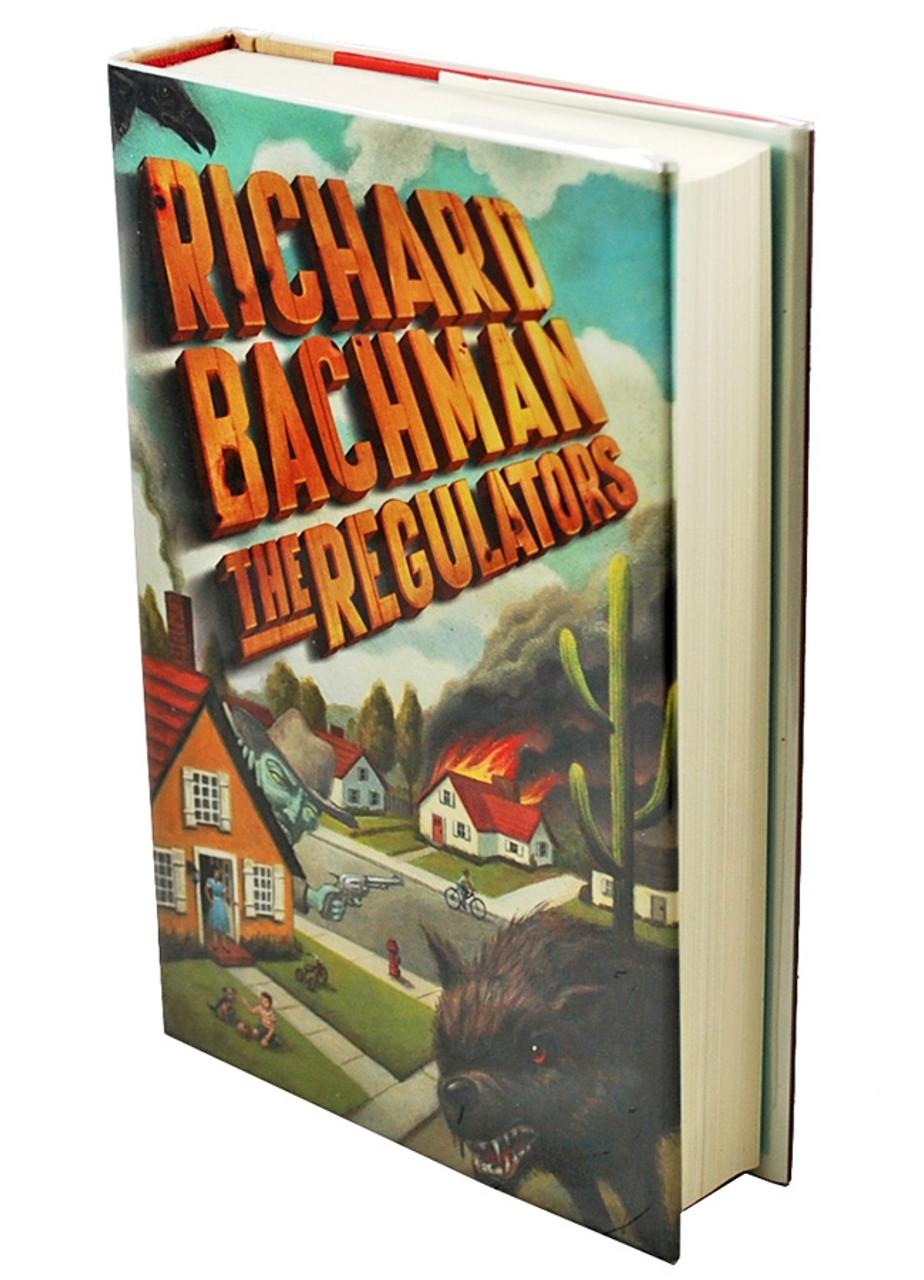 "Stephen King, Richard Bachman ""The Regulators"" Signed First Edition dj/HC Fine/Fine"