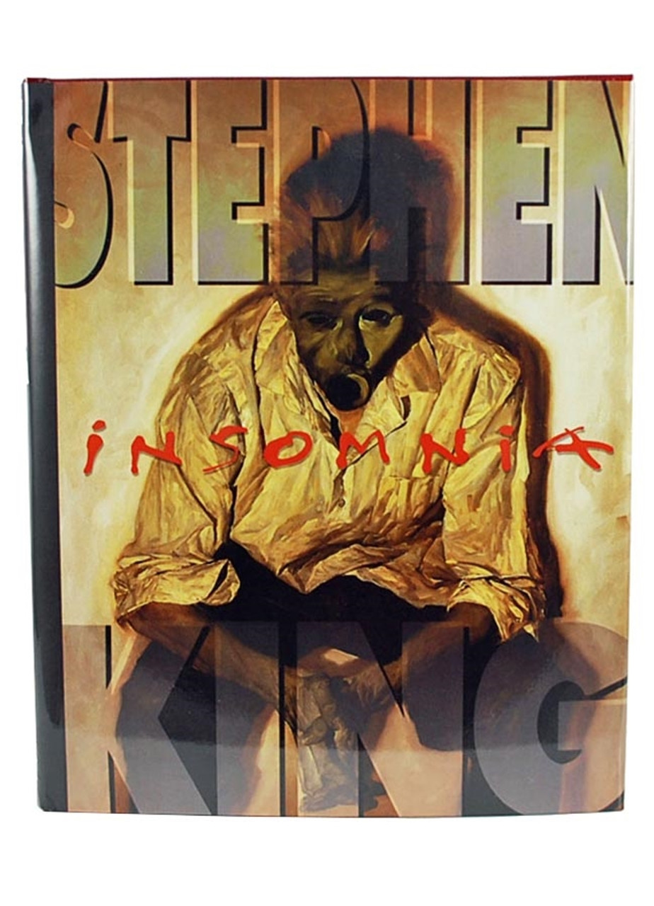 """Stephen King """"Insomnia"""" Signed Limited Edition, Mark V. Zeising Books, one of only 1,250 produced."""