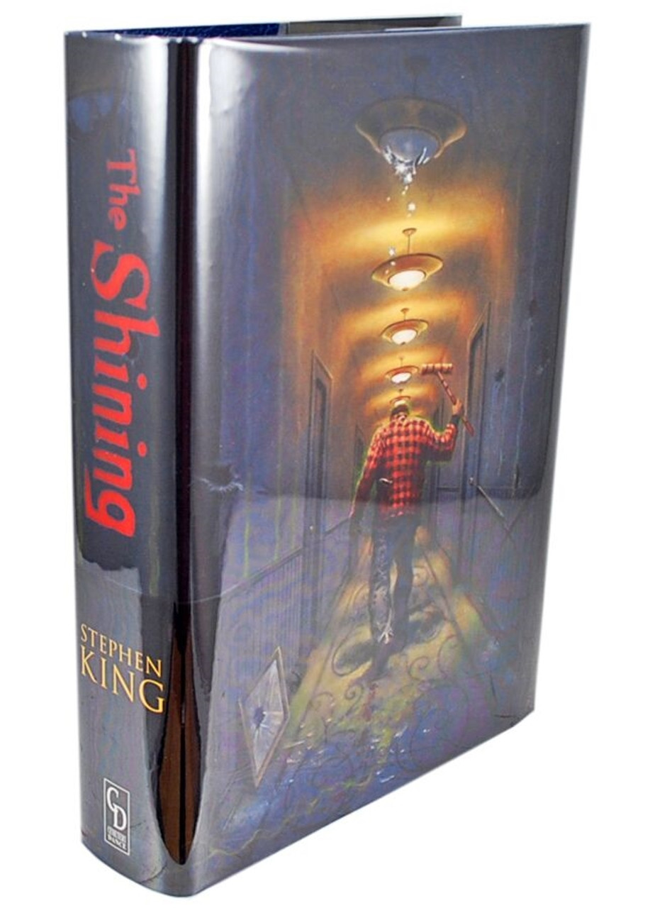 """Stephen King """"The Shining"""" Signed Artist Edition #393/750 - Oversized Deluxe w/Traycase [Very Fine]"""