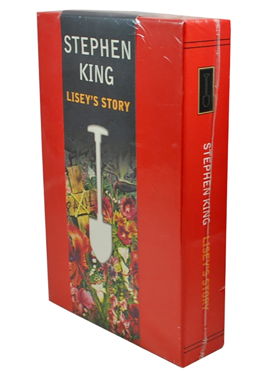 """Quality Book Club 2006 - Stephen King """"Lisey's Story"""" Slipcased Gift Edition [Sealed]"""