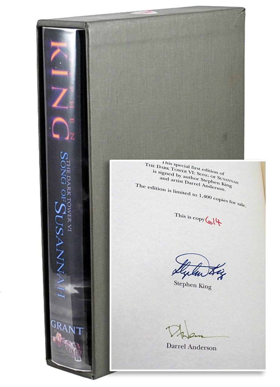 Stephen King Dark Tower Series Signed Limited Edition Grand Publishers 9 Volumes Complete Collection - Matching Numbers.