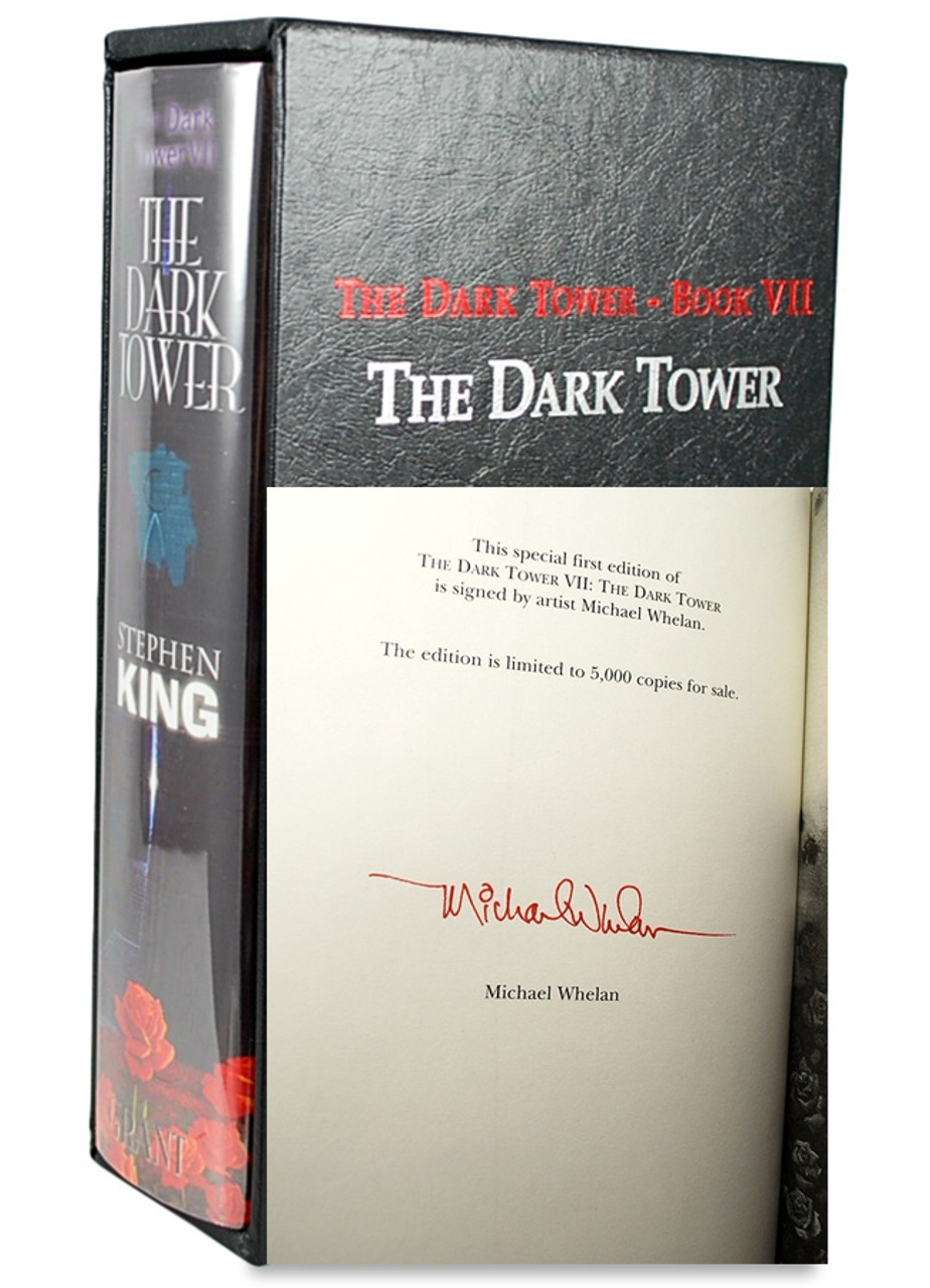Stephen King Dark Tower Series Signed Artist Limited Edition Grand Publishers 9 Volumes Complete Collection - partial Matching Numbers.