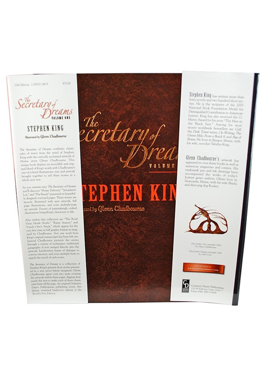 "Stephen King ""Secretary of Dreams"" Volume One, Slipcased Limited Edition [Very Fine]"