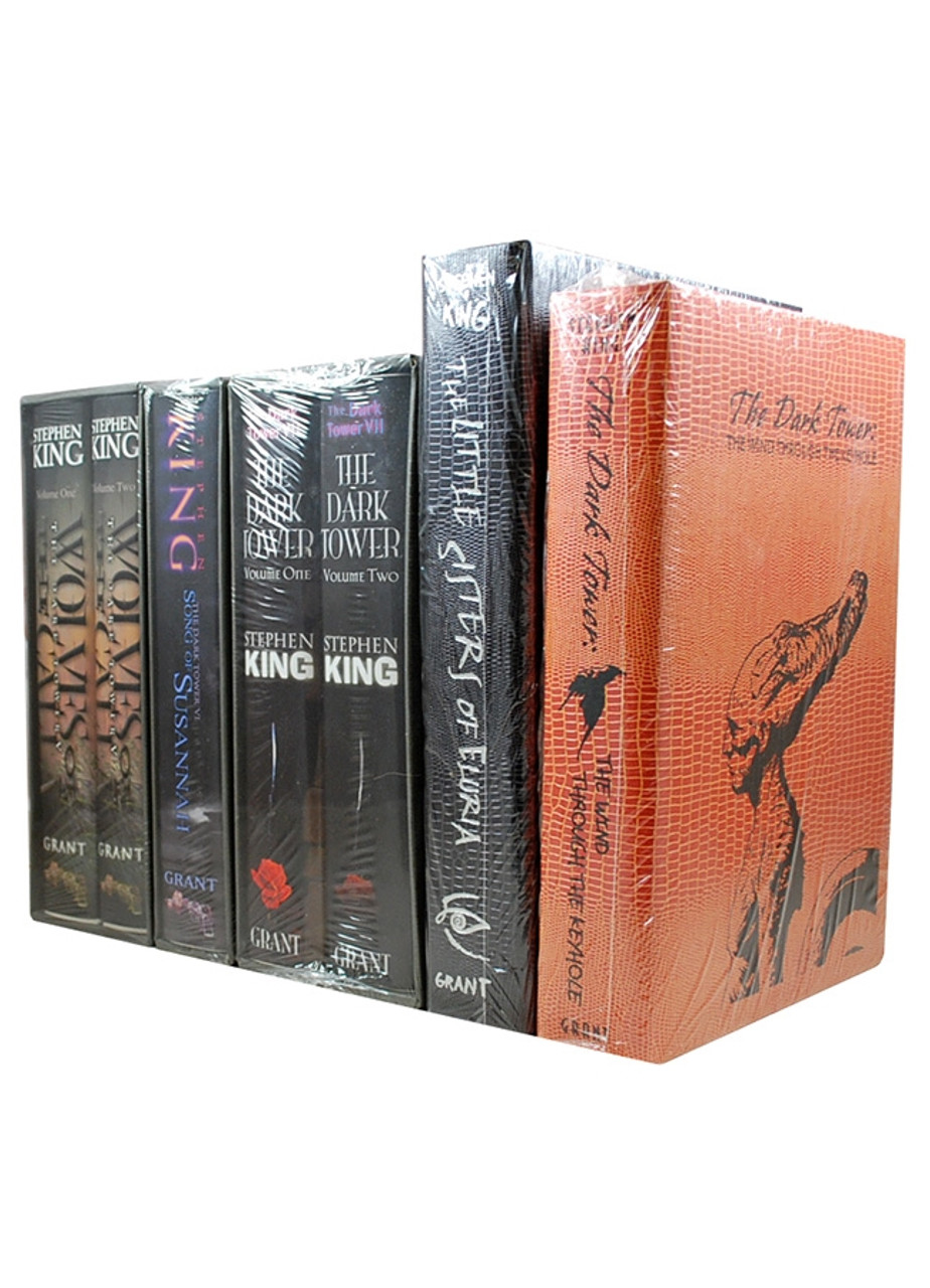 """Stephen King """"The Dark Tower"""" Signed Limited Edition, 5-Volume Matching Numbers Set [Sealed]"""