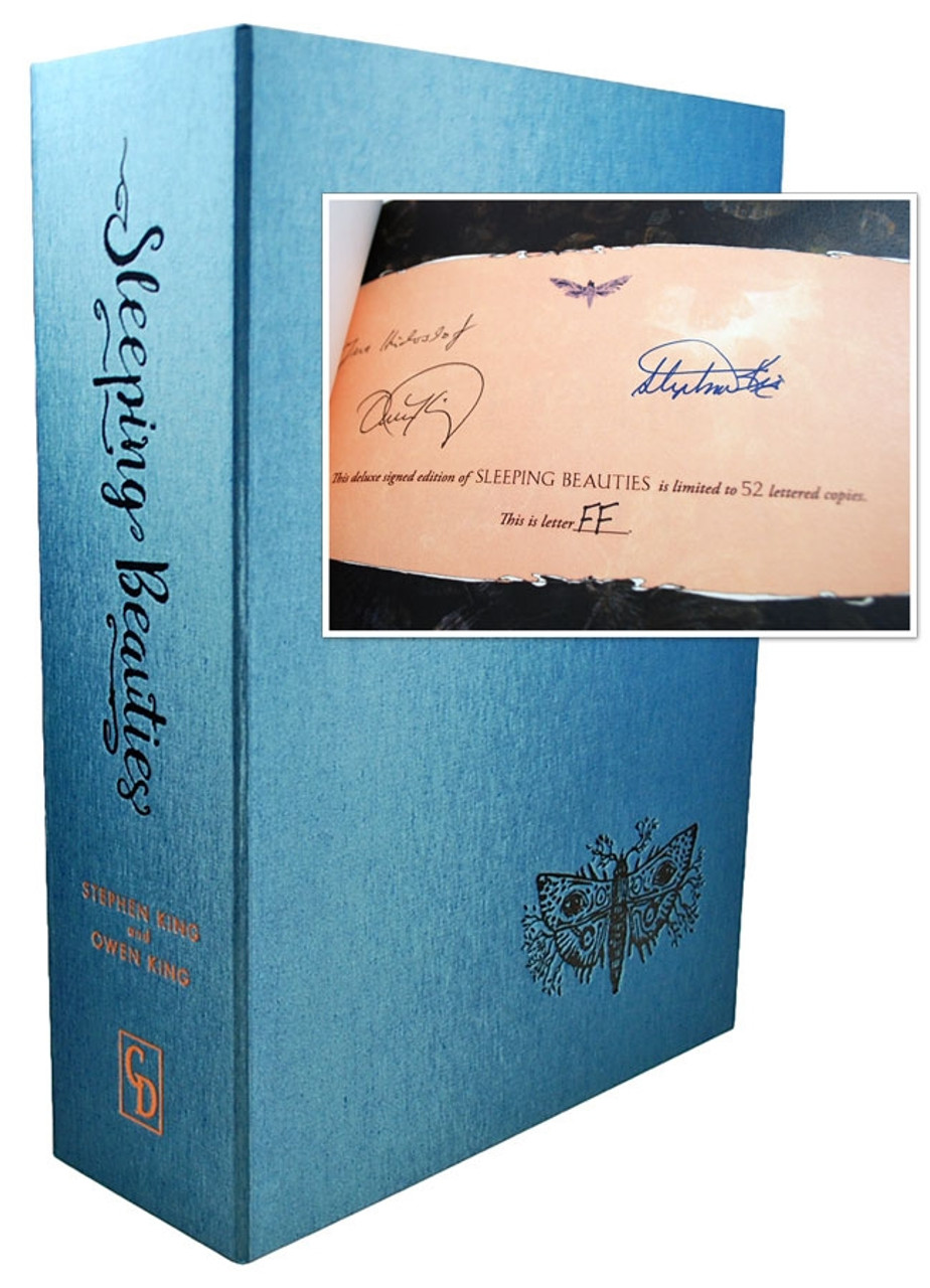 "Stephen King and Owen King, ""Sleeping Beauties"" Signed Lettered Edition ""FF"" of 52 in Box [Sealed]"