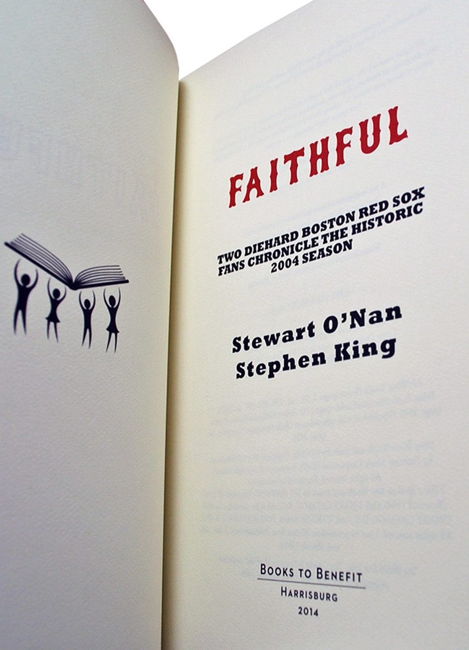 """Stephen King, Stewart O'Nan """"Faithful"""" Signed Limited Edition No.146 of 350, Tray-cased [Very Fine]"""