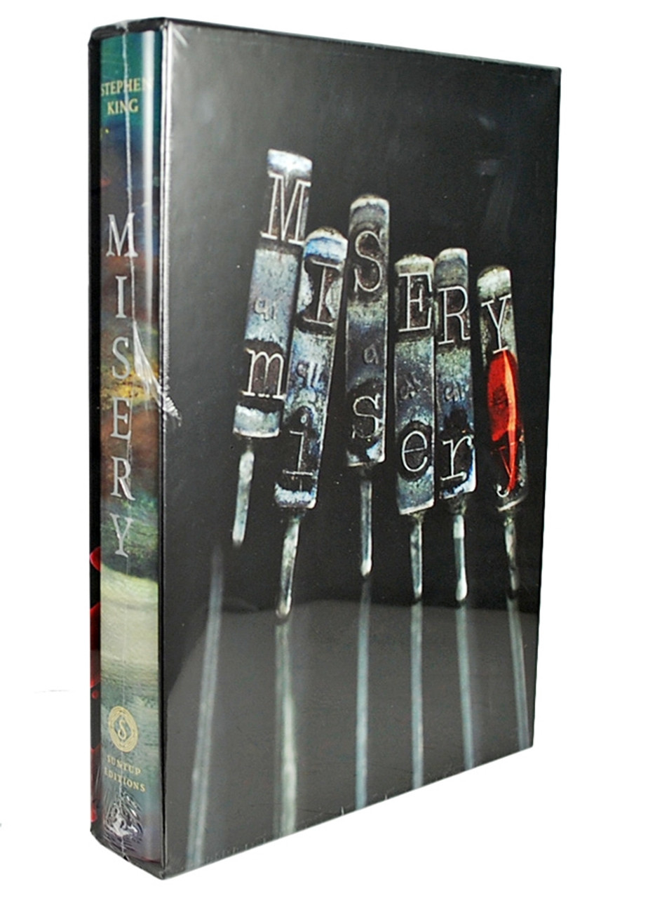 """Stephen King """"Misery"""" Signed Limited Artist Gift Edition of only 1,250 [Sealed]"""
