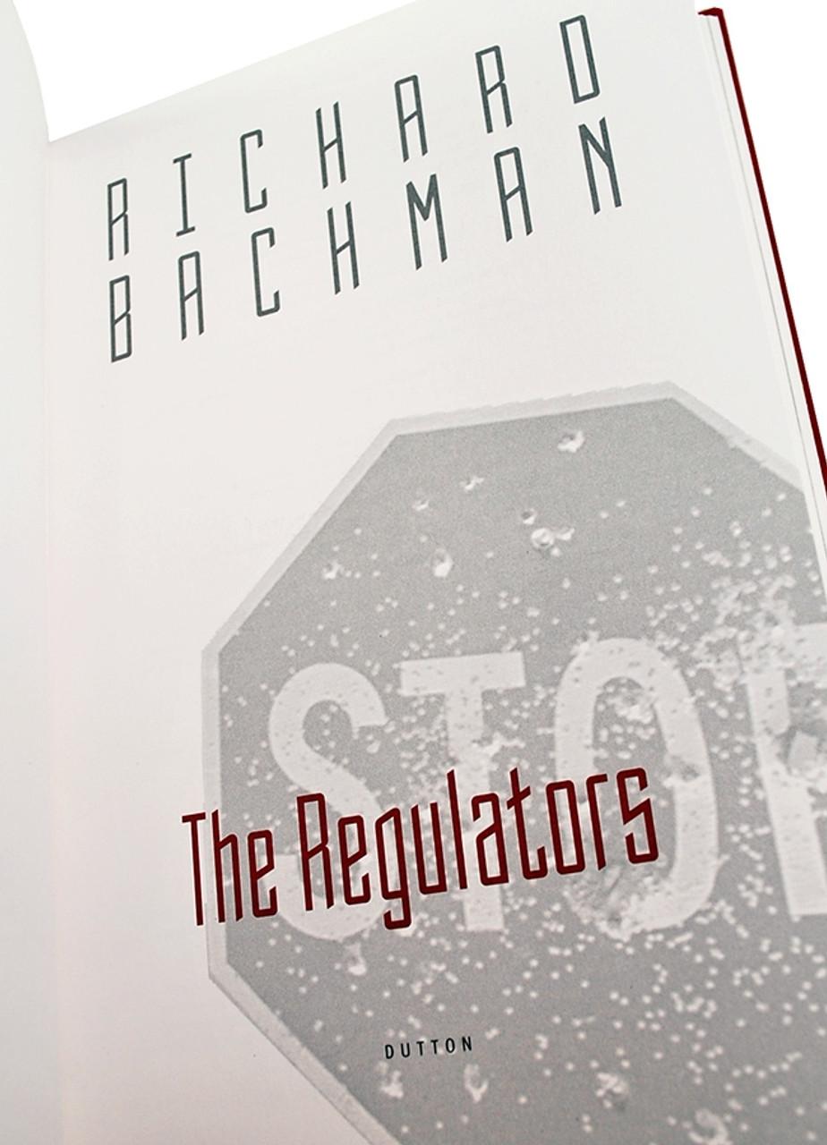 "Stephen King, Richard Bachman ""The Regulators"" Signed Limited Edition No. 248 of 552"