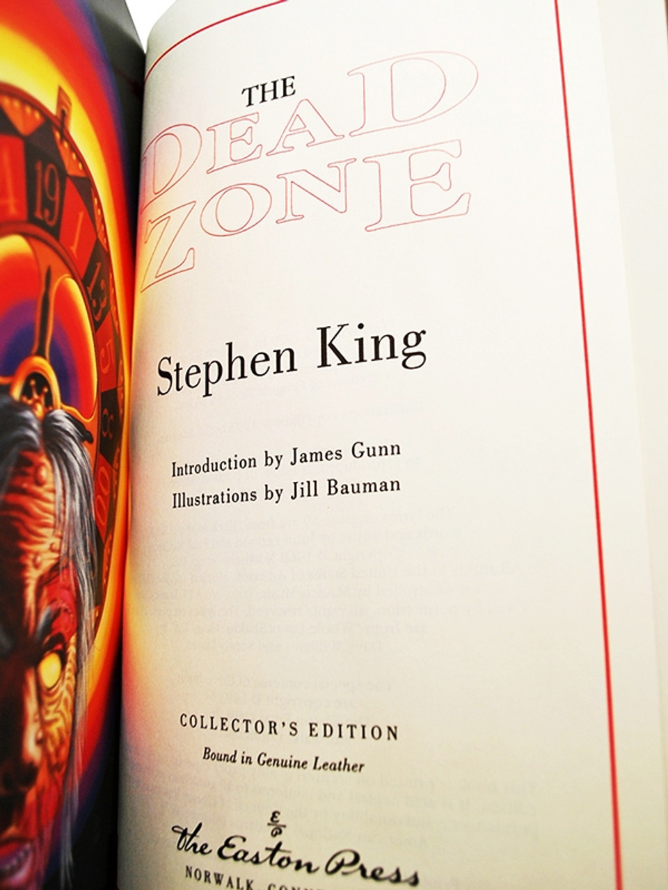Easton Press The Dead Zone Stephen King Limited Edition