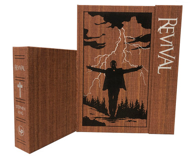 "Stephen King ""REVIVAL"" Signed Limited Deluxe Edition, Slipcased [Sealed] + Artwork Portfolio, Limited Edition of 400"
