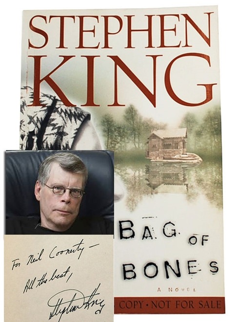 "Stephen King ""Bag of Bones"" Signed Proof First Edition, First Printing dj/HC [Fine/Fine]"