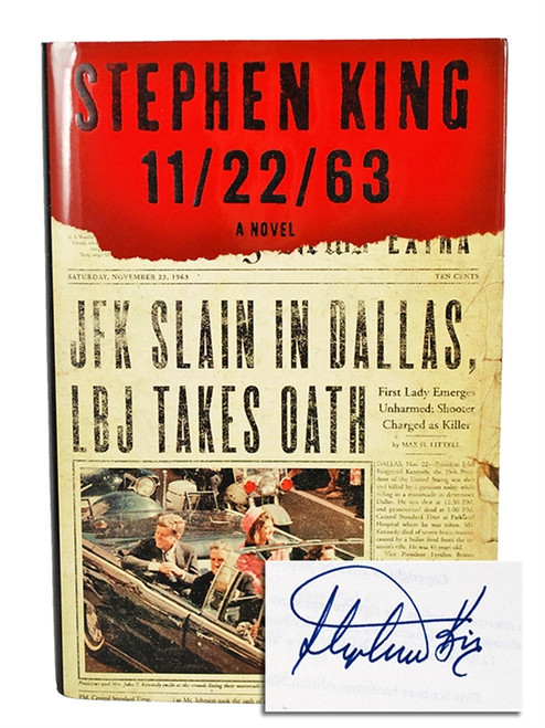 "Scribner ""11/22/63"" Stephen King, Signed First Edition, First Printing, dj/HC in Slipcase (Very Fine/Very Fine)"