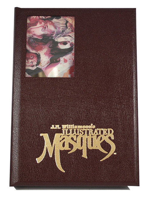"J.N. Williamson ""Illustrated Masques"" Signed Lettered Edition, Stephen King, Clive Barker"