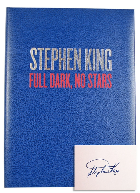 "Stephen King ""Full Dark, No Stars"" Signed Limited Deluxe Edition of 750 (Very Fine)"