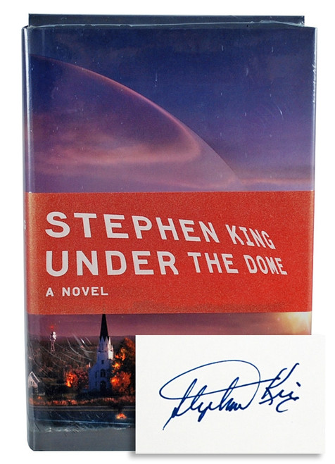 "Stephen King, ""Under the Dome"" Signed Limited Edition, w/Playing Cards - Sealed"