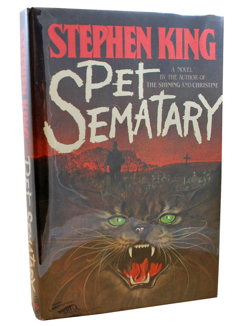 """Doubleday 1983 - Stephen King """"Pet Sematary"""" First Edition/First Printing, Slipcased"""