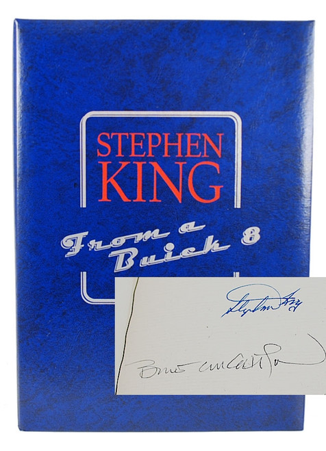 "Stephen King ""From a Buick 8"" CD Publications, Signed Limited Edition"